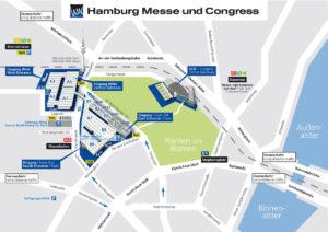 Anfahrt zur Caravaning Hamburg Messe & Congress